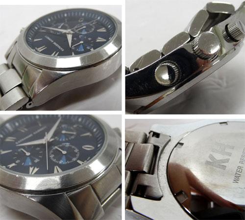 e80a5a449f アクセサリー · 時計 · メンズ時計 · SOLD OUT KATHARINE HAMNETT キャサリンハムネット クロノグラフ /クォーツ/KH-2058/ネイビー×