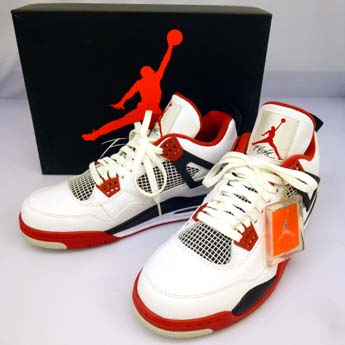 check out f0362 37282 SOLD OUT  中古 NIKE AIR JORDAN 4 RETRO FIRE RED ナイキ エア ジョーダン フォー レトロ ファイヤー