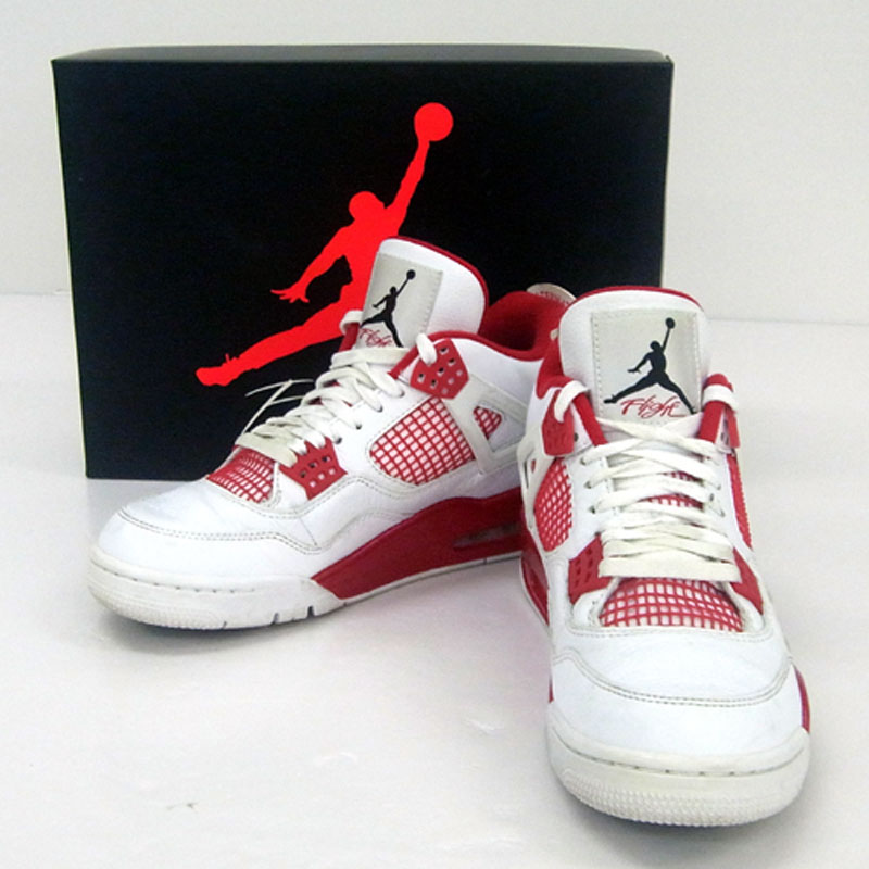 SOLD OUT 【中古】NIKE AIR JORDAN 4 RETRO ALTERNATE 89/ナイキ エアジョーダン 4 レトロ